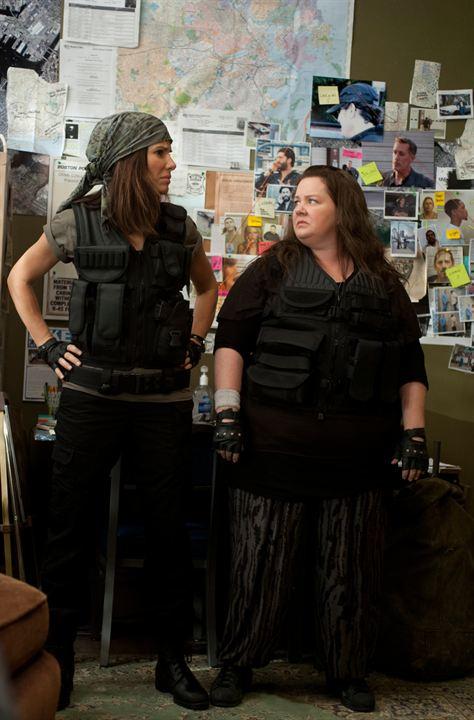 Atesli Aynasizlar : Fotograf Melissa McCarthy, Sandra Bullock