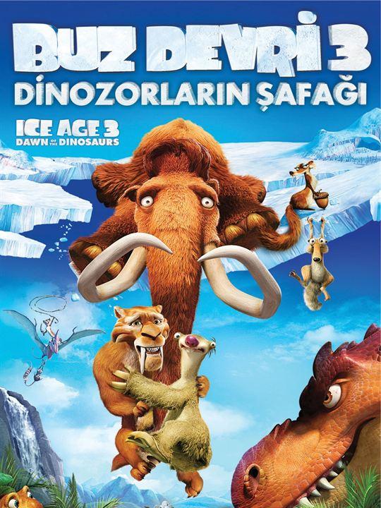 Buz Devri 3: Dinozorlarin Safagi : Afis