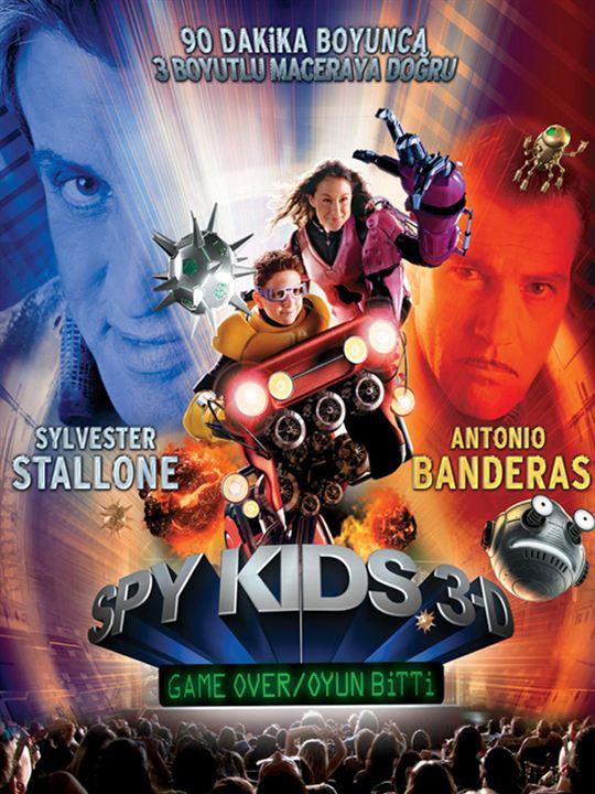 Spy Kids 3-D: Oyun Bitti : Afis