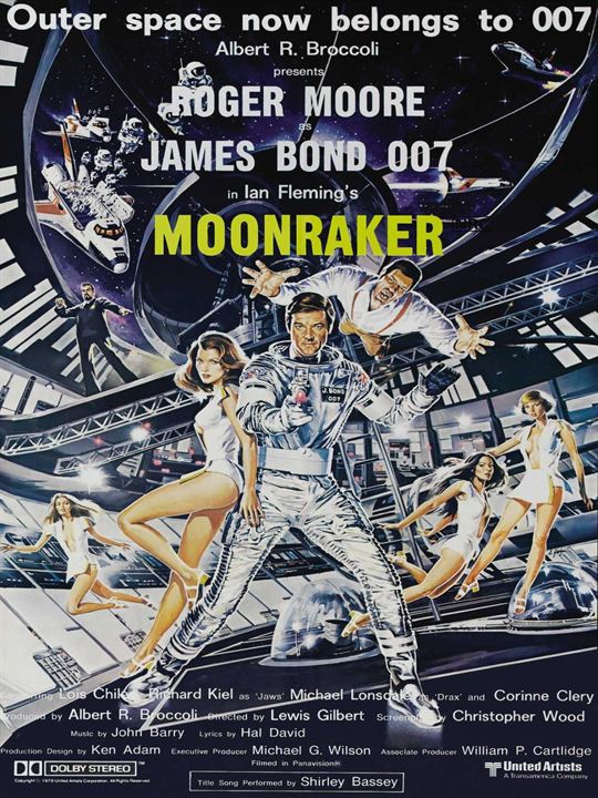 Moonraker : Afis