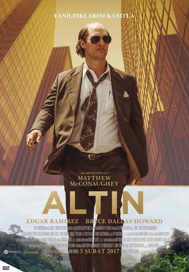 Altın - Gold (2016) Türkçe Dublaj BRRip 720p Torrent indir