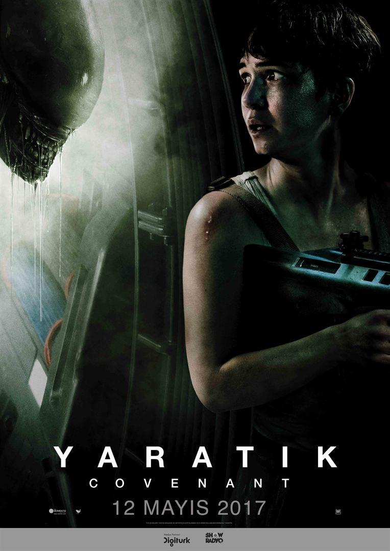 Yaratık Covenant – Alien: Covenant 2017 Türkçe Dublaj Full HD İndir