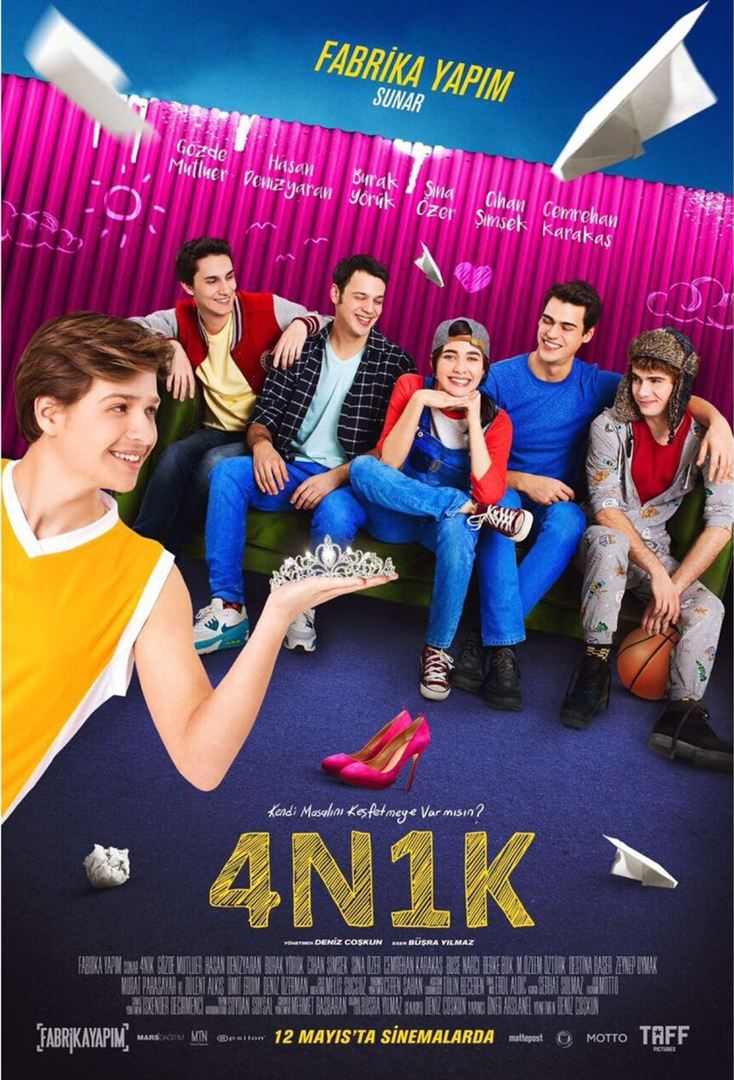 4N1K (2017) Yerli Film 720p WEBRip Torrent İndir