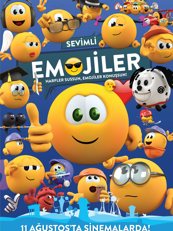 Sevimli Emojiler - The Mojicons (2017) Türkçe Dublaj DVDRip Torrent İndir