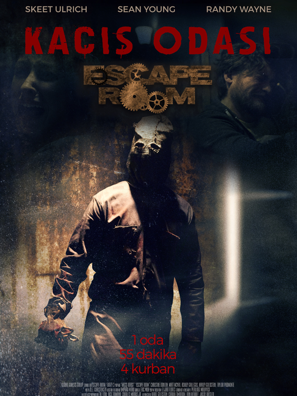 Kaçış Odası - Escape Room (2017) m1080p DUAL BluRay Torrent indir