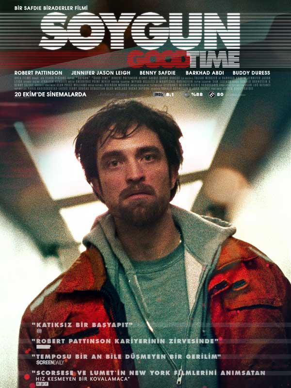 Soygun - Good Time (2017) Türkçe Dublaj 720p Torrent İndir