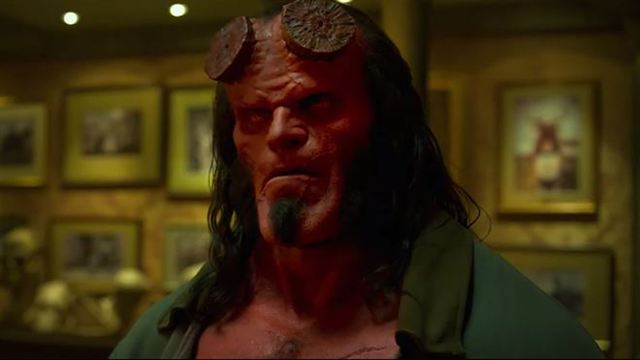 Hellboy Green Band Fragman