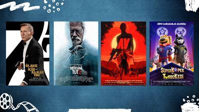 """Vizyondaki Filmler: """"Ölmek İçin Zaman Yok"""", """"Nefesini Tut 2"""", """"Av"""""""