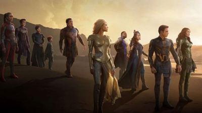 Marvel Yapımı Eternals'tan IMAX Posteri Paylaşıldı