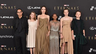 """Marvel Filmi """"Eternals""""ın Galasından Şık Görüntüler"""
