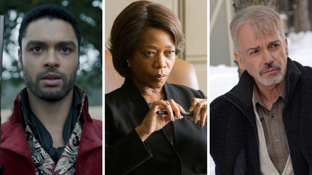 """The Gray Man""in Kadrosuna Regé-Jean Page, Alfre Woodard 