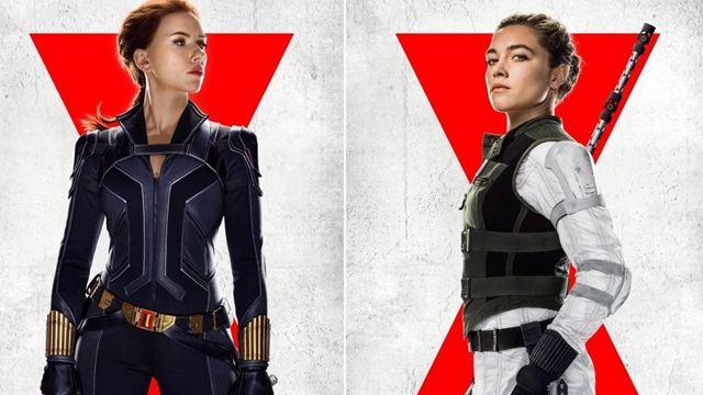 Marvel Sinematik Evreni Filmi Black Widow'dan Yeni Karakter Posterleri!