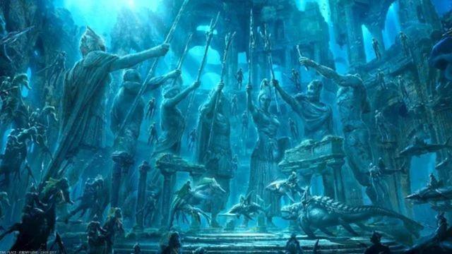 Aquaman and The Lost Kingdom, Necrus Şehrine Götürüyor!