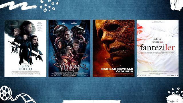"""Vizyondaki Filmler; """"Son Düello"""", """"Venom 2"""", """"Cadılar Bayramı Öldürür"""""""