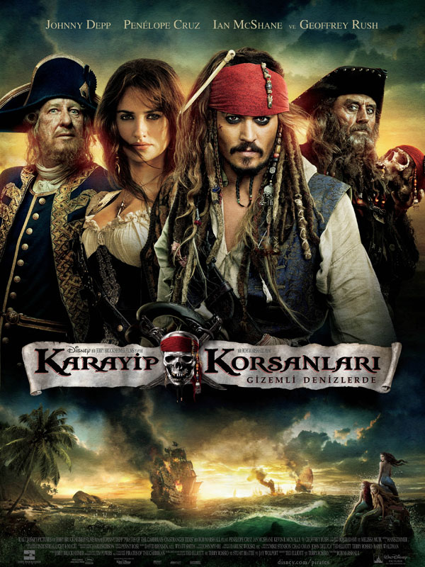Karayip Korsanları: Gizemli Denizlerde - Pirates of the Caribbean ...