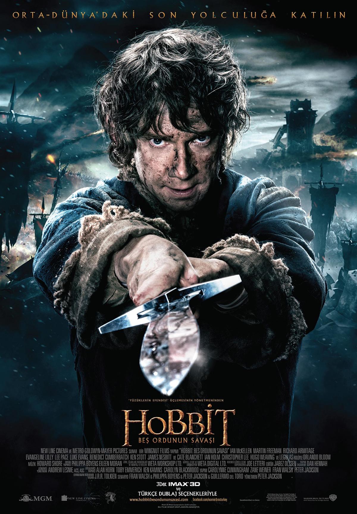 hobbit bes ordunun savasi filmi icin benzer filmler beyazperde com