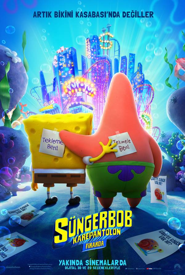SüngerBob KarePantolon: Firarda - The Spongebob Movie: Sponge on the Run - Beyazperde.com
