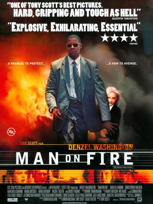Gazap Ateşi - Man on Fire (2004) 1080p NF WEB-DL DDP5.1 H.264 DUAL [TR EN]