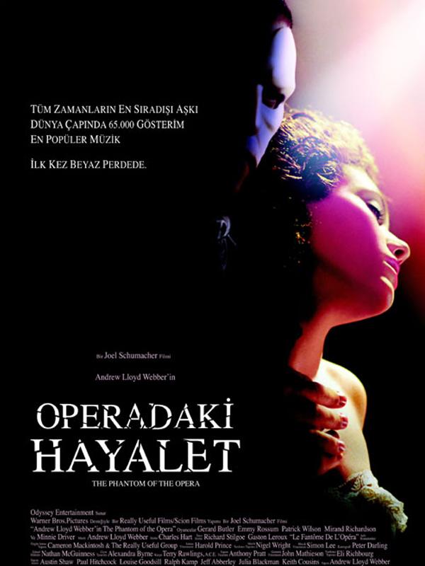 Operadaki Hayalet - Andrew Lloyd Webber's The phantom of the opera ...