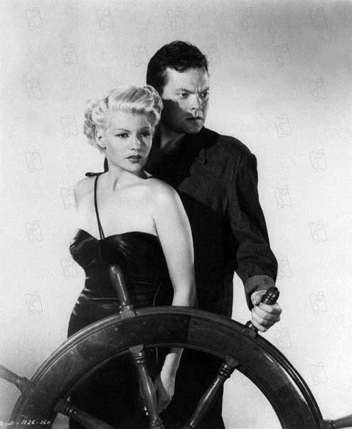Şanghaylı Kadın: Rita Hayworth, Orson Welles