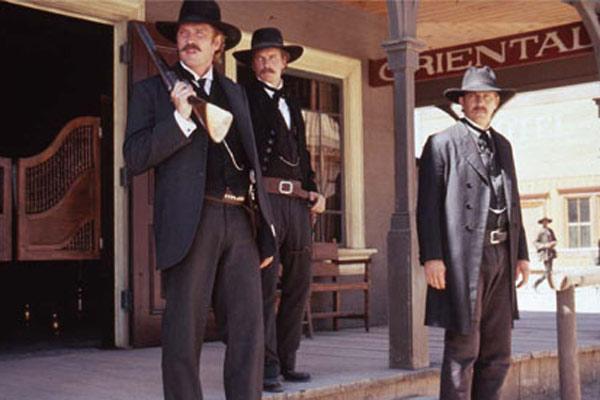 Wyatt Earp: Michael Madsen, Linden Ashby, Lawrence Kasdan, Kevin Costner