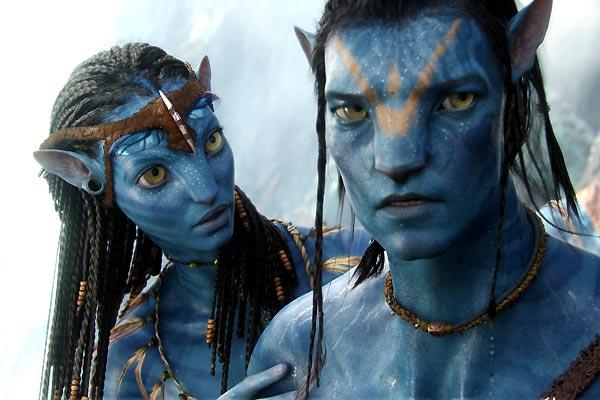Avatar : Fotograf Sam Worthington, Zoe Saldana