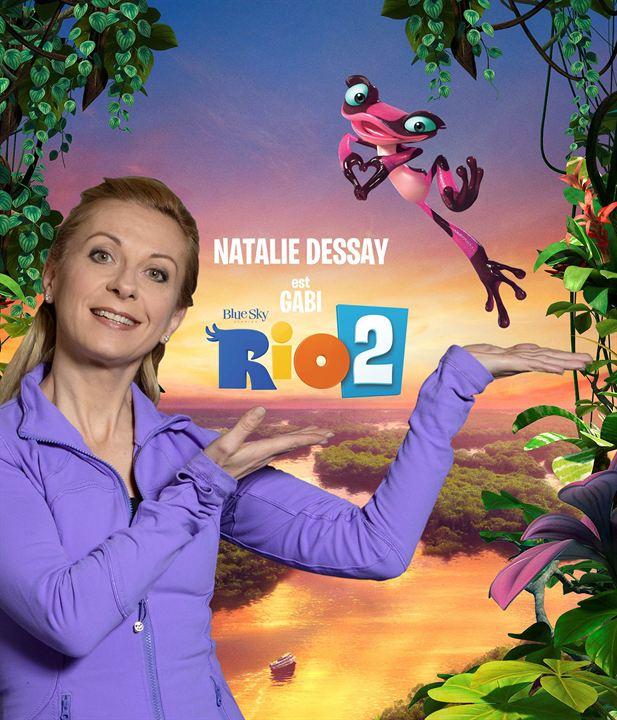 Rio 2: Natalie Dessay