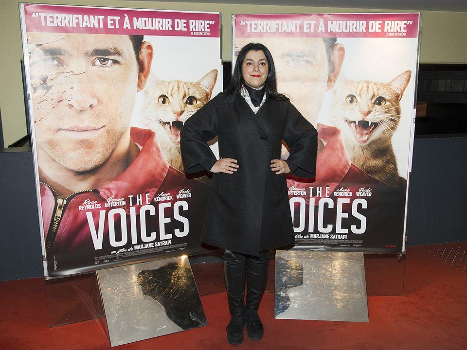 The Voices : Vignette (magazine) Marjane Satrapi