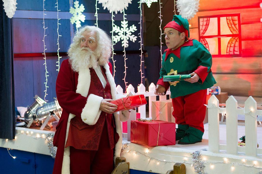 Get Santa : Fotograf Jim Broadbent, Warwick Davis