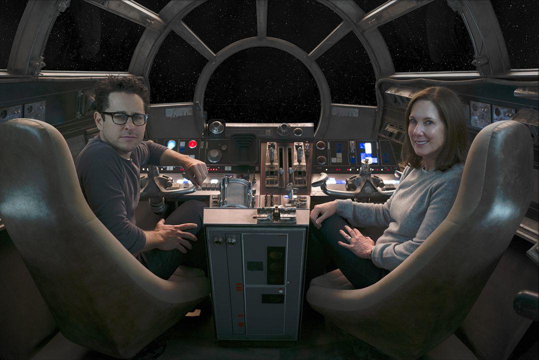 Star Wars: Güç Uyaniyor : Vignette (magazine) J.J. Abrams, Kathleen Kennedy