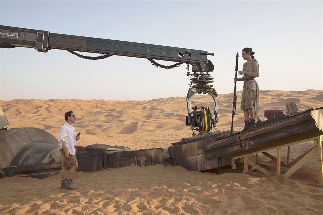Star Wars: Güç Uyaniyor : Vignette (magazine) Daisy Ridley, J.J. Abrams