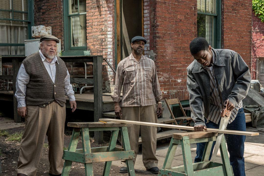 Fences : Fotograf Denzel Washington, Jovan Adepo, Stephen Henderson
