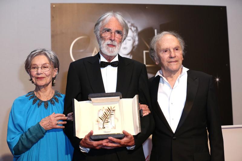 Aşk: Jean-Louis Trintignant, Michael Haneke, Emmanuelle Riva