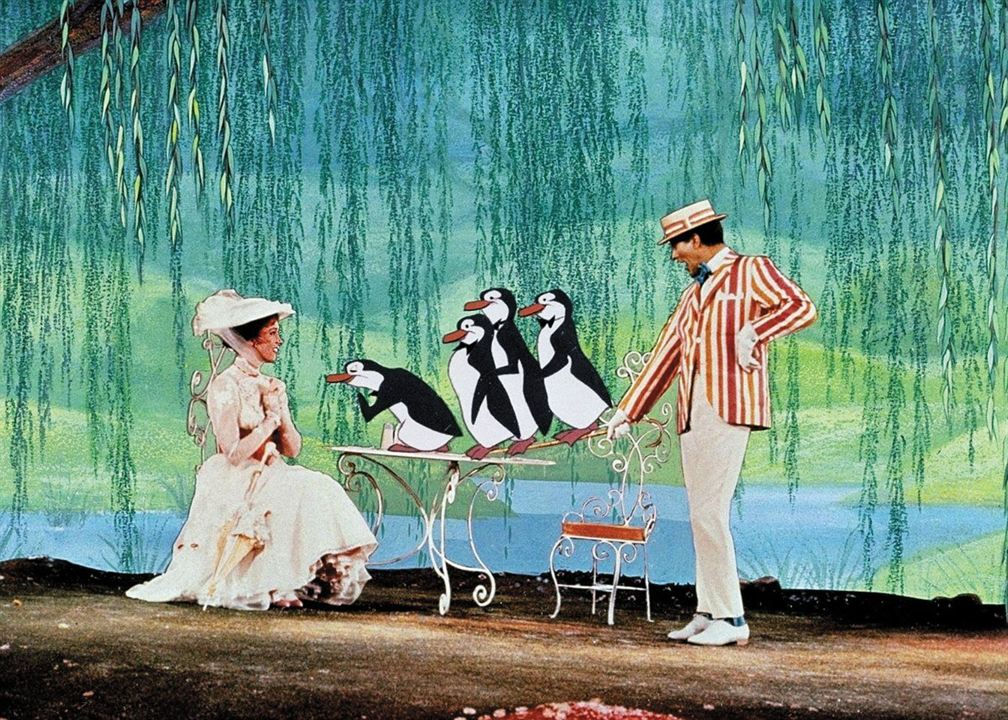 Mary Poppins : Fotograf Dick Van Dyke, Julie Andrews