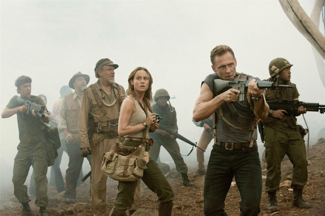 Kong: Kafatasi Adasi : Fotograf Brie Larson, John C. Reilly, John Goodman, Thomas Mann (II), Tom Hiddleston