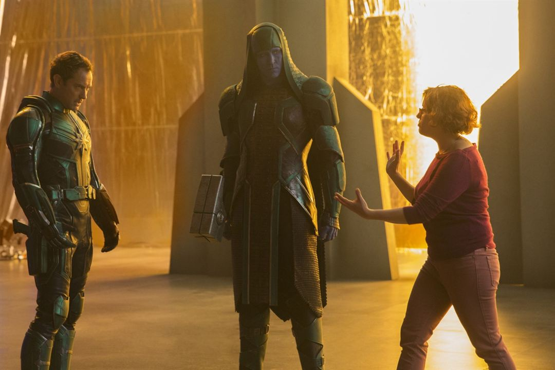 Captain Marvel : Vignette (magazine) Anna Boden, Jude Law, Lee Pace