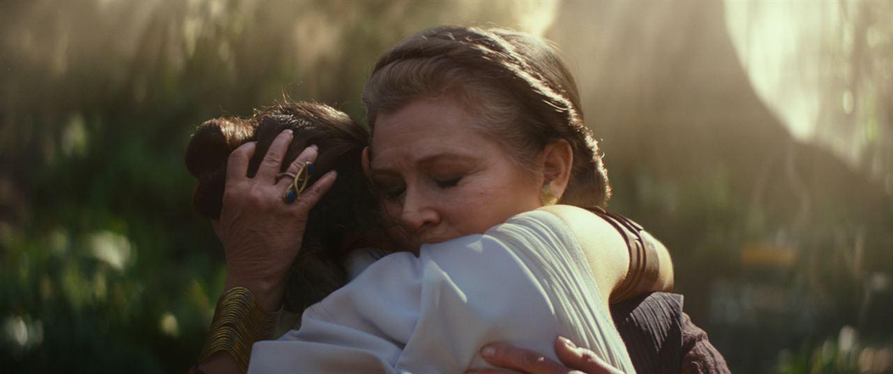 Star Wars: Skywalker'in Yükselisi : Fotograf Carrie Fisher