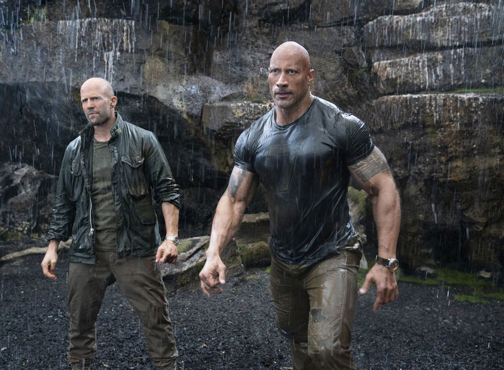 Hızlı ve Öfkeli: Hobbs ve Shaw: Jason Statham, Dwayne Johnson