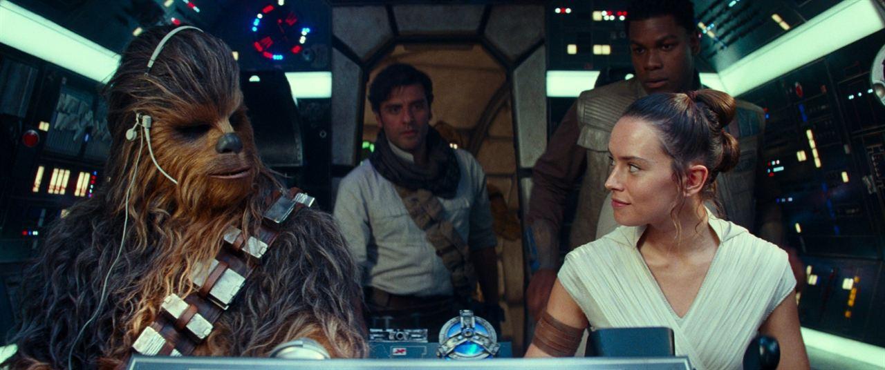 Star Wars: Skywalker'in Yükselisi : Fotograf Daisy Ridley, John Boyega, Oscar Isaac