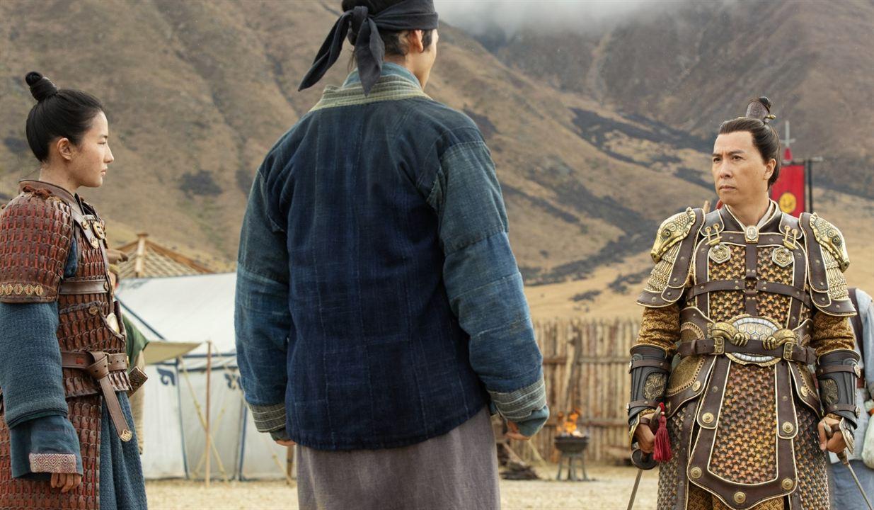 Mulan : Fotograf Donnie Yen, Yifei Liu
