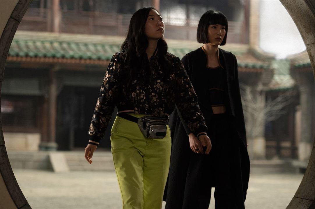 Shang-Chi ve On Halka Efsanesi : Fotograf Awkwafina, Meng'er Zhang
