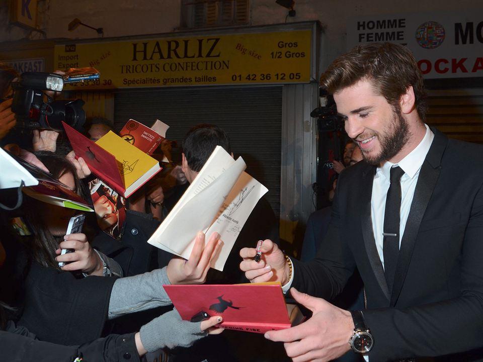Açlık Oyunları: Ateşi Yakalamak: Liam Hemsworth